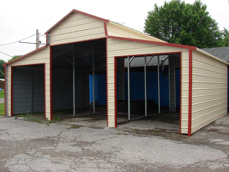 Rv Carports Metal Building Kits : Rv covers metal building kits